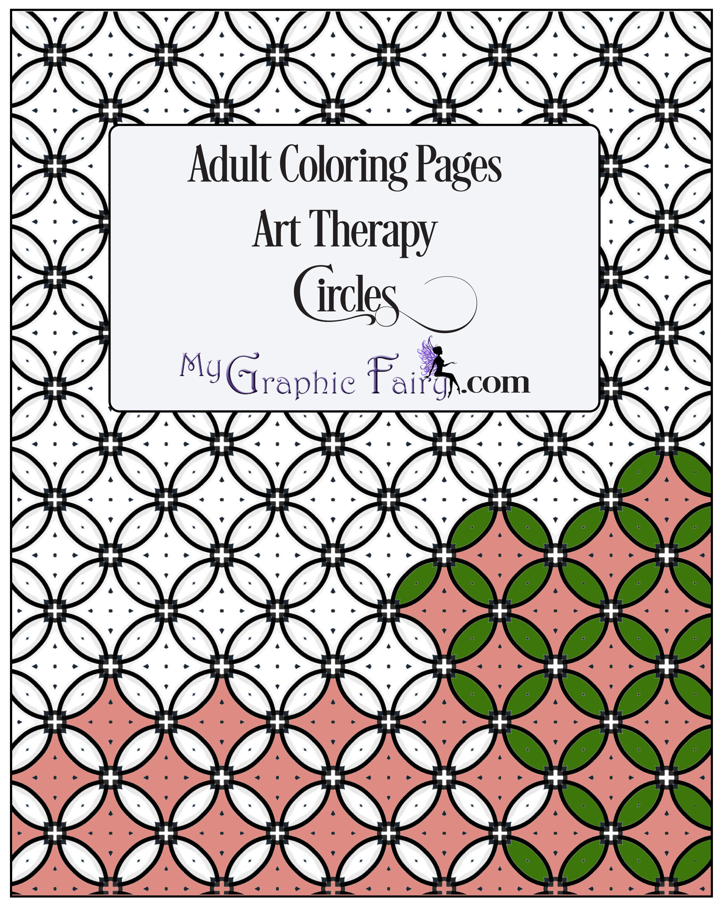 art therapy coloring pages - art therapy coloring pages circles my graphic fairy