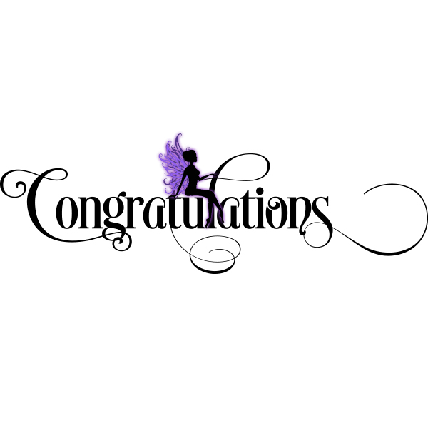Congratulations SVG File My Graphic Fairy