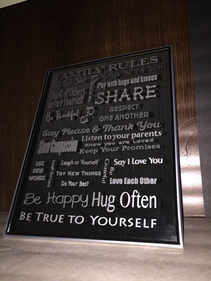 Family Rules Subway Art Svg Cut File My Graphic Fairy