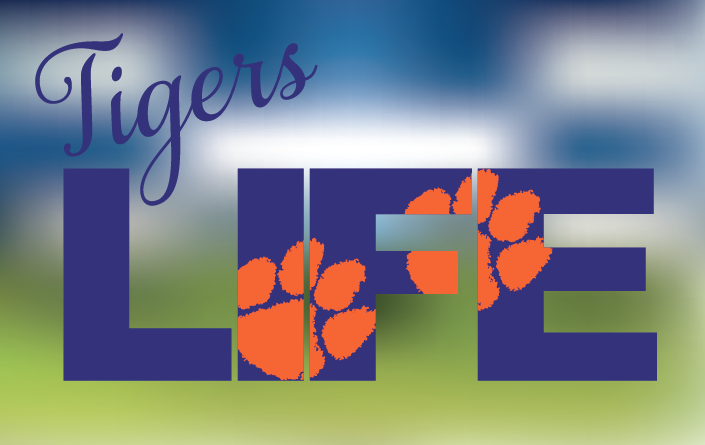 Clemson Tigers LIFE SVG Cut File