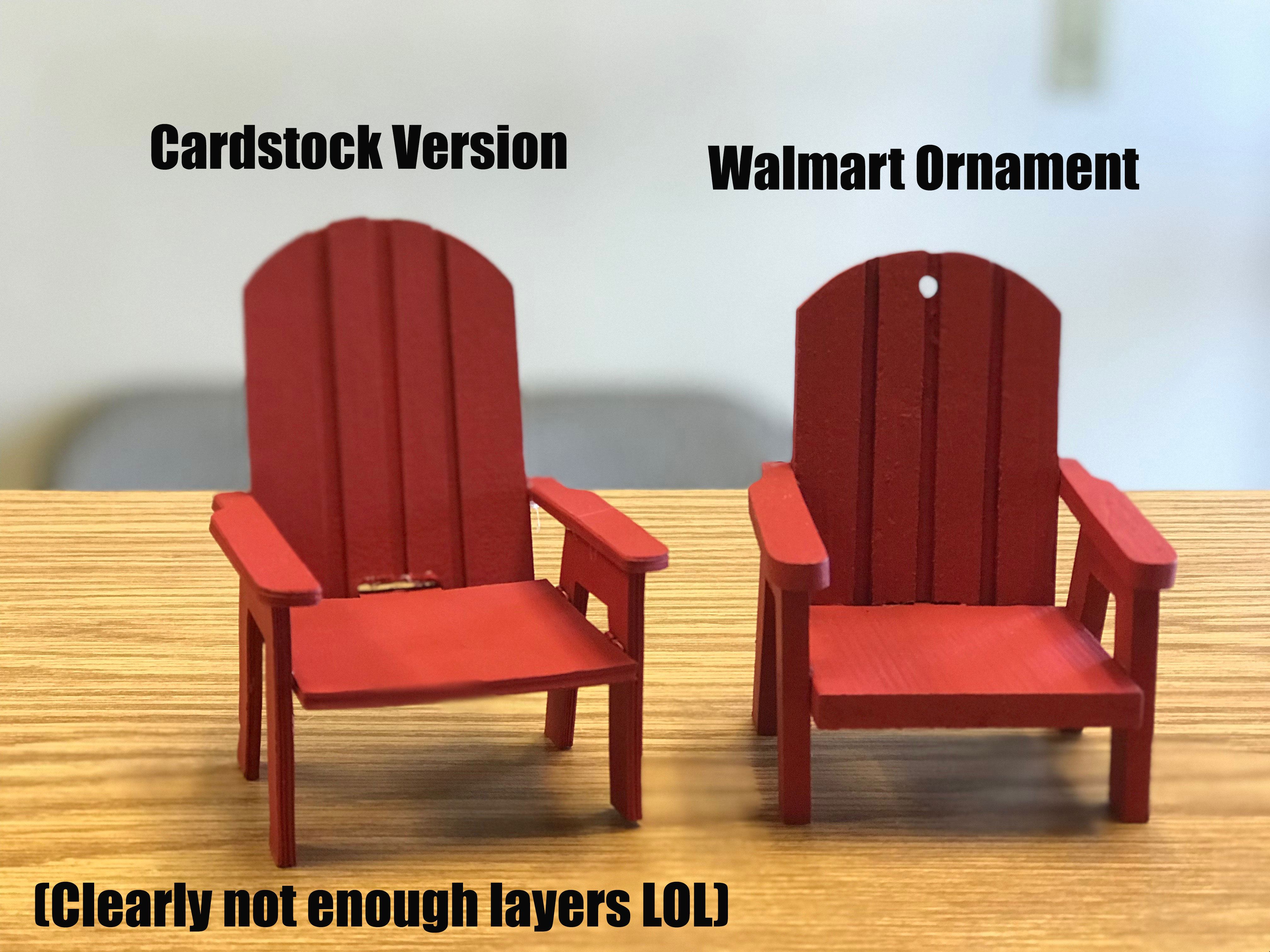 Mini Adirondack Chair Svg File And Tutorial My Graphic Fairy
